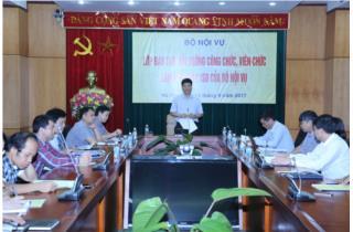 Bộ Nội vụ tập huấn về ISO điện tử cho cán bộ, công chức