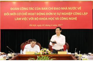 Nhà nước vẫn đặt hàng với công ty tư nhân trong nghiên cứu KHCN